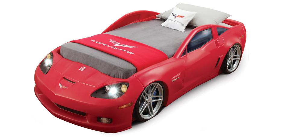 Corvette bilsäng (juniorsäng)