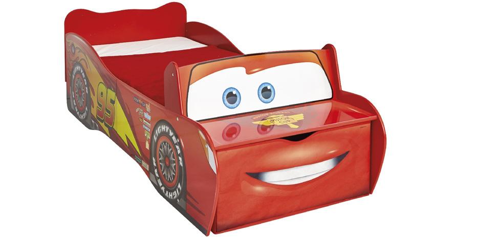 Blixten McQueen - Juniorsäng (Bilsäng)