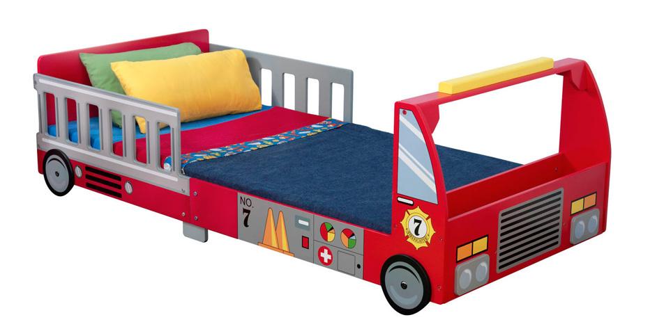 Brandbil som säng - Juniorsäng